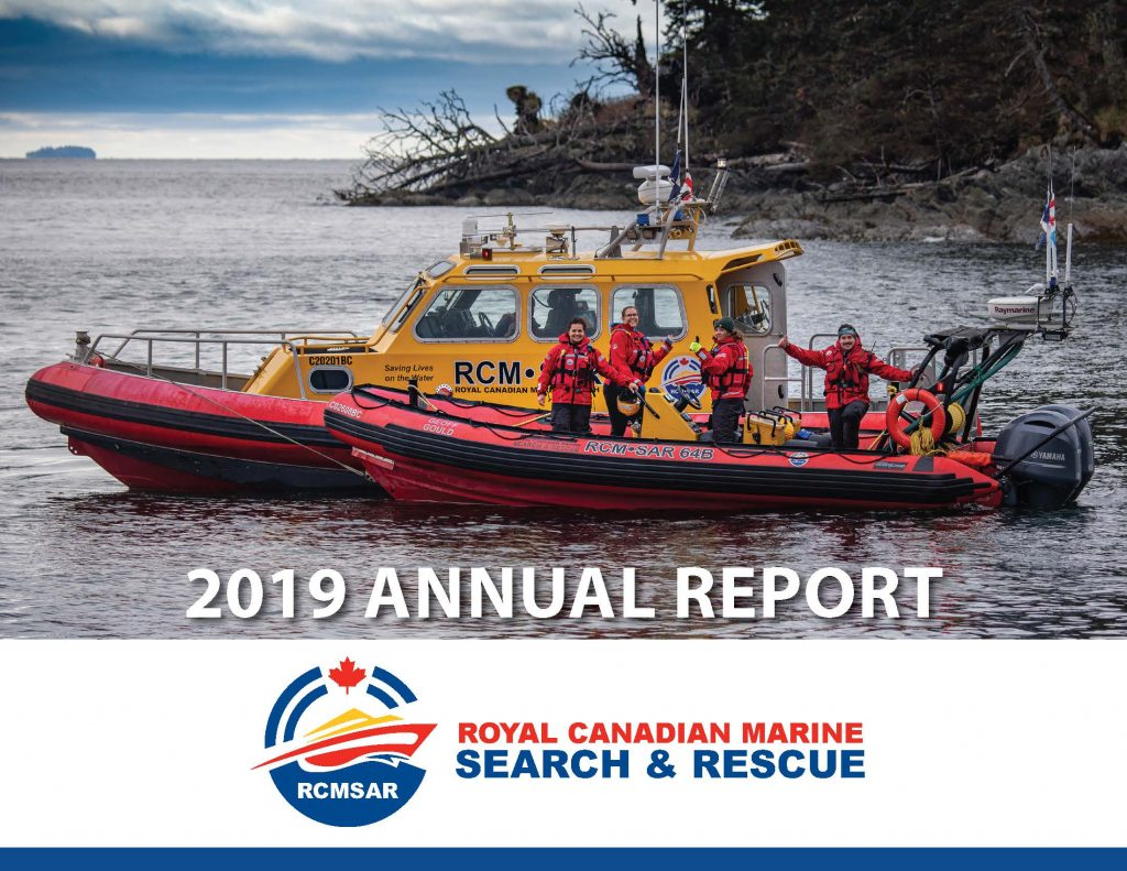 RCMSAR Annual Report Cover Page