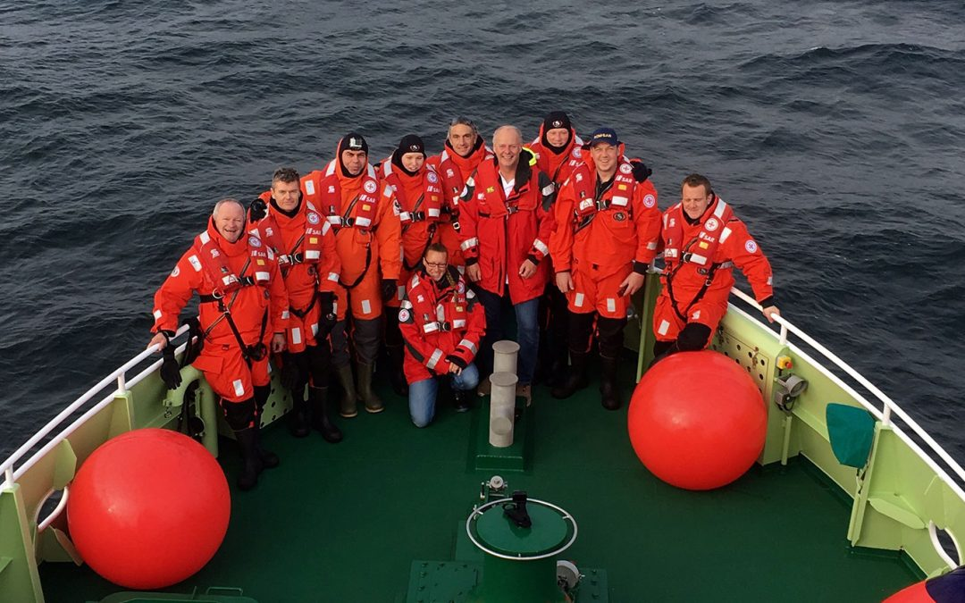 Mill Bay Coxswain Trains with International Maritime Rescue Federation