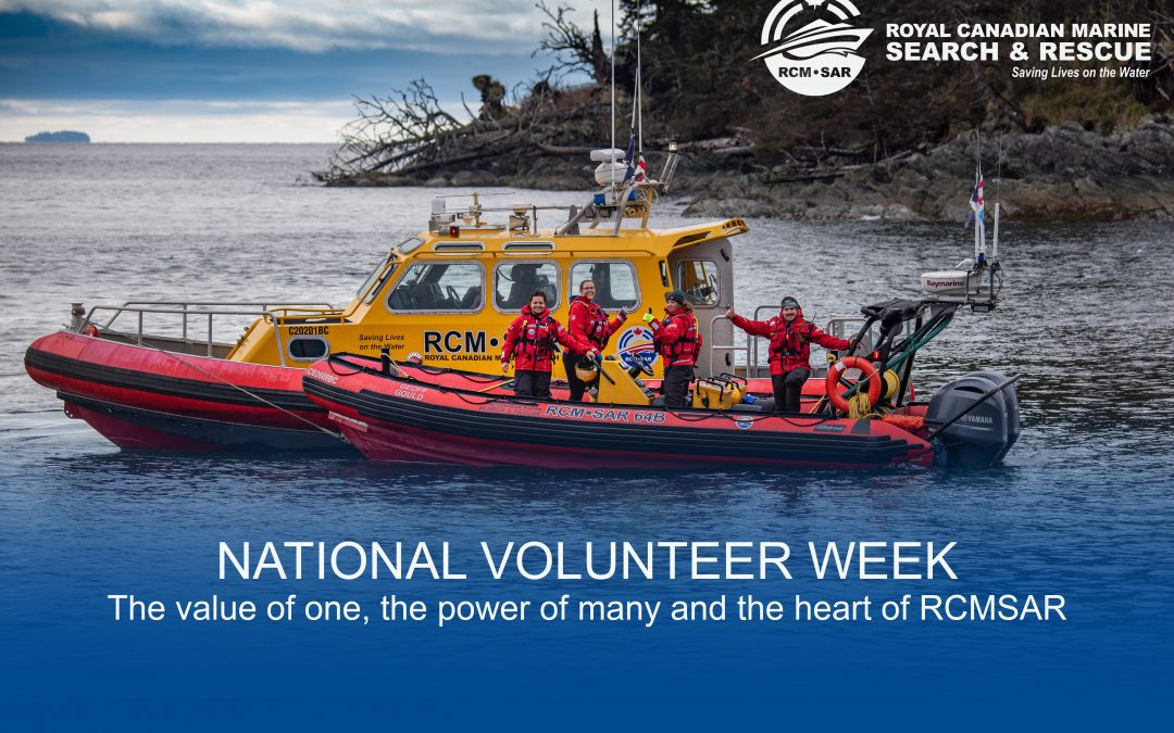 RCMSAR celebrates National Volunteer Week 2021