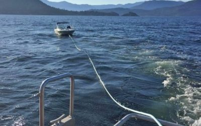 West Vancouver Crew Helps save Four in Interagency Rescue