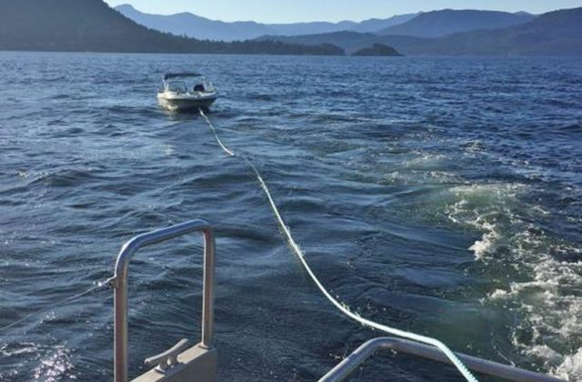 RCMSAR-West Vancouver Crew Helps save Four in Interagency Rescue
