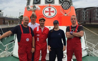 A Visit with the German Sea Emergency Rescuers